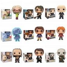 Acosado Potter Hedwig Sirius Dobby negro Snape Voldemort Luna RON Hermione juguete de acción figuras en miniatura de coleccionismo de juguete regalos de los niños