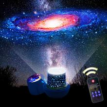 New Amazing LED Starry Night Sky Projector Lamp Star Light Cosmos Master Kids Gift Battery USB Battery Night Light for Children