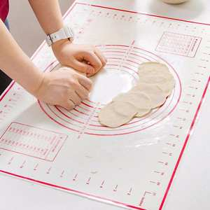 Silicone Non-stick Rolling Dough Mat Baking Pad Pastry Bakeware Kitchen Gadgets