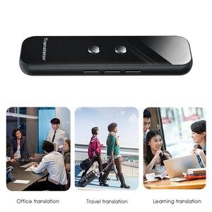Image 5 - Kebidumei G6 di Smart Voice Dispositivo Traduttore Elettronico 3 In 1 Voce/Testo/Fotografiche 40 + Lingua Traduttore Per IPhone Android