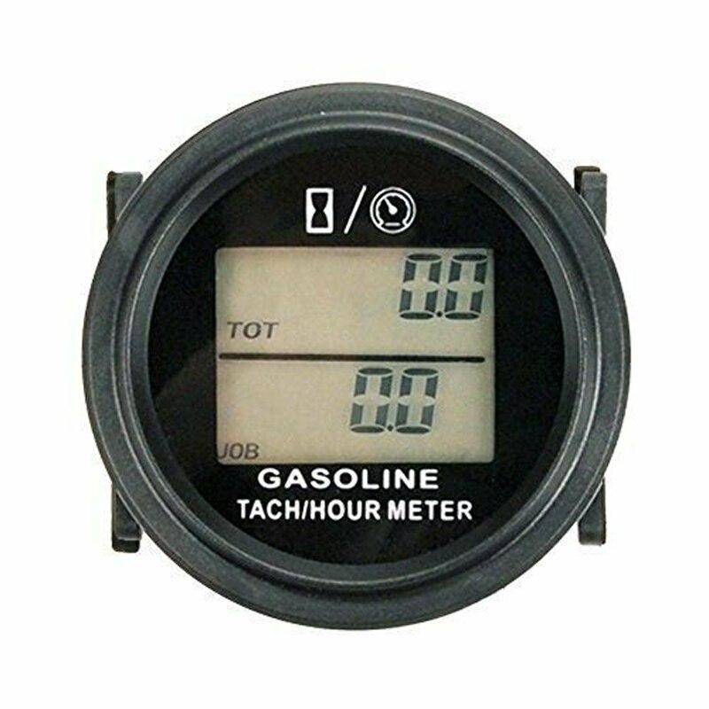 1pc voiture tachymètre numérique LCD accessoire pièces vitesse minuterie étanche IP65