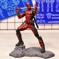 Disney Marvel X Men 26cm Deadpool 2 Action Figure Anime Decoration PVC Collection Figurine mini Toys model for children