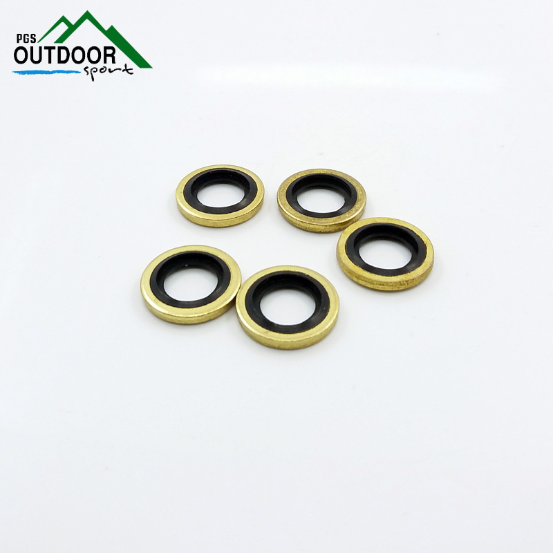 """Image 2 - 5pcs 1/8"""" BSPP/M8/M10 Bonded Seals for PCP Air Rifle Charging Filling Hose Pump Connections-in Paintball Accessories from Sports & Entertainment"""