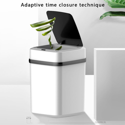 10L Smart Prullenbak Automatische Motion Sensor Vuilnisbak Snelle Reactie Afvalbak Stille Vuilniszak Container Voor Keuken Badkamer