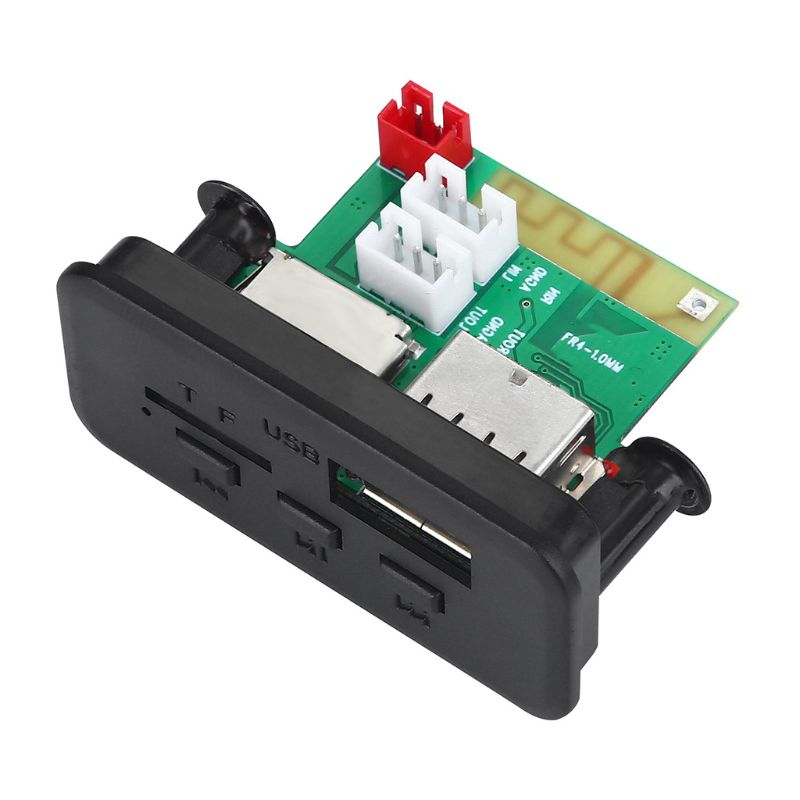 Autoradio Bluetooth 2021, lecteur MP3, 5V/12V, Module de carte décodeur WMA, nouveauté 5.0