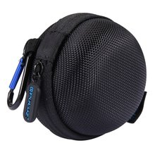 Round charger cable Earphone bag stocker Mini Storage Case Box for GoPro HERO5 4 Session storage Bag Camera Photo Accessories цена 2017