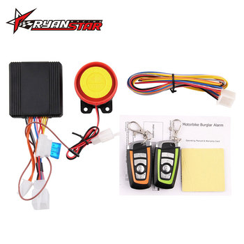 Universal Two-way Motorcycle Scooter Anti-theft Security Alarm System Engine Start Remote Control Key MB-AH023 1