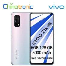Original vivo iqoo z1x 6gb 128gb 5g telefone móvel snapdragon 765g octa núcleo 48mp câmera 6.57