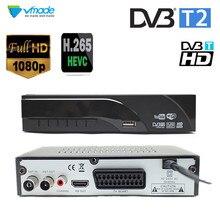 최신 DVB T2 지상파 디지털 수신기 디코더 H.265/HEVC DVB T 지원 h265 H264 hevc dvb t2 뜨거운 판매 유럽 체코