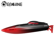 Eachine-barco eléctrico de velocidad con Control remoto, modelo EBT02 2,4G, vehículos con función de reinicio de rotación
