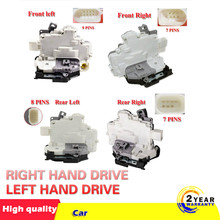 Zatrzaskowy zamek drzwiowy centralny mechanizm silnik pasuje do Audi Q3 Q5 Q7 A4 A5 TT B6 8K0839016 8K0839015 8J1837016A 8J1837015A