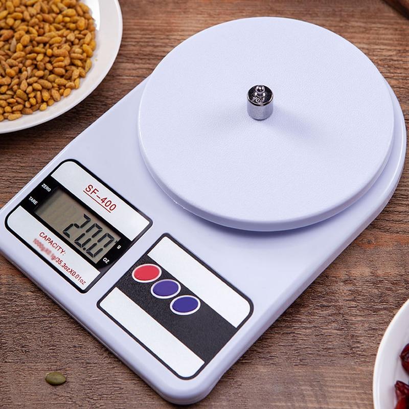 10 кг 1 г ЖК-дисплей Дисплей электронные товарные Вес весы Кухня Пособия по кулинарии измерительные инструменты цифровые весы точные домашние электронные весы-4
