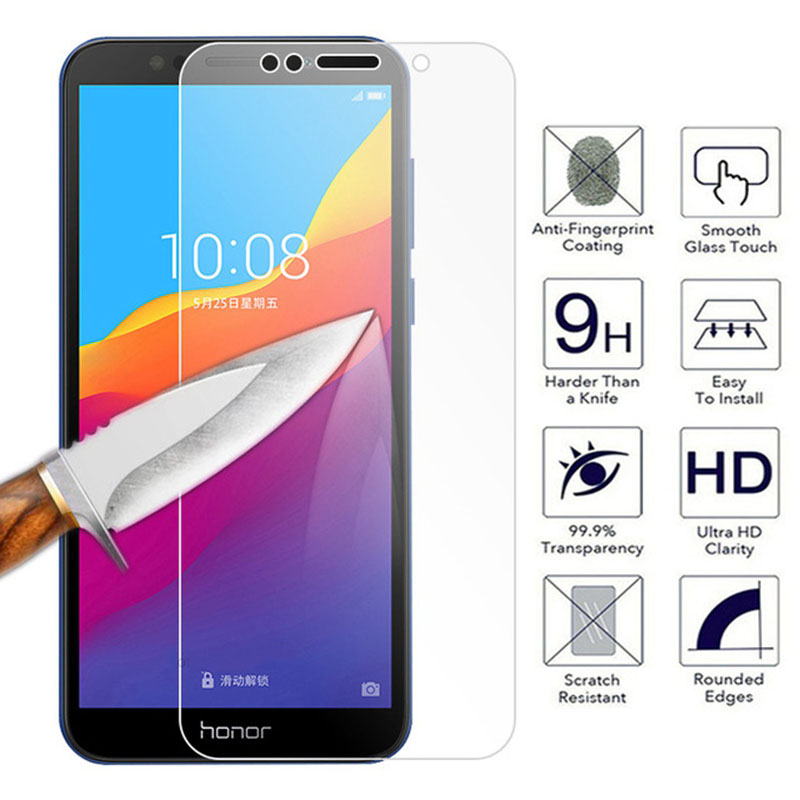 9H Protective Glass On The For Huawei Honor 7X 8X 9X 7A 7C Pro 8A 8C 7S 8S Screen Protector For Honor 9i 10i Tempered Glass Film