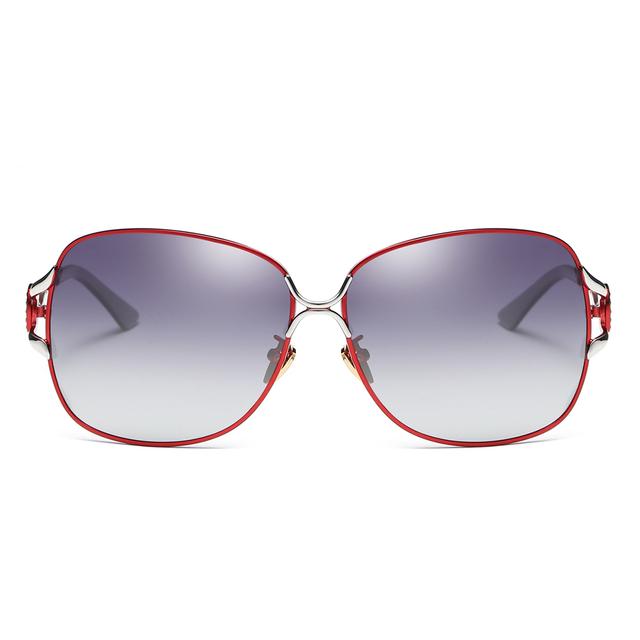 BARCUR Women's Alloy Fashion Polarized Sunglasses