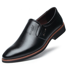 Men Casual Shoes Comfort Fashion Loafers Black Leather Oxford Male Adult Sneakers Plus Size