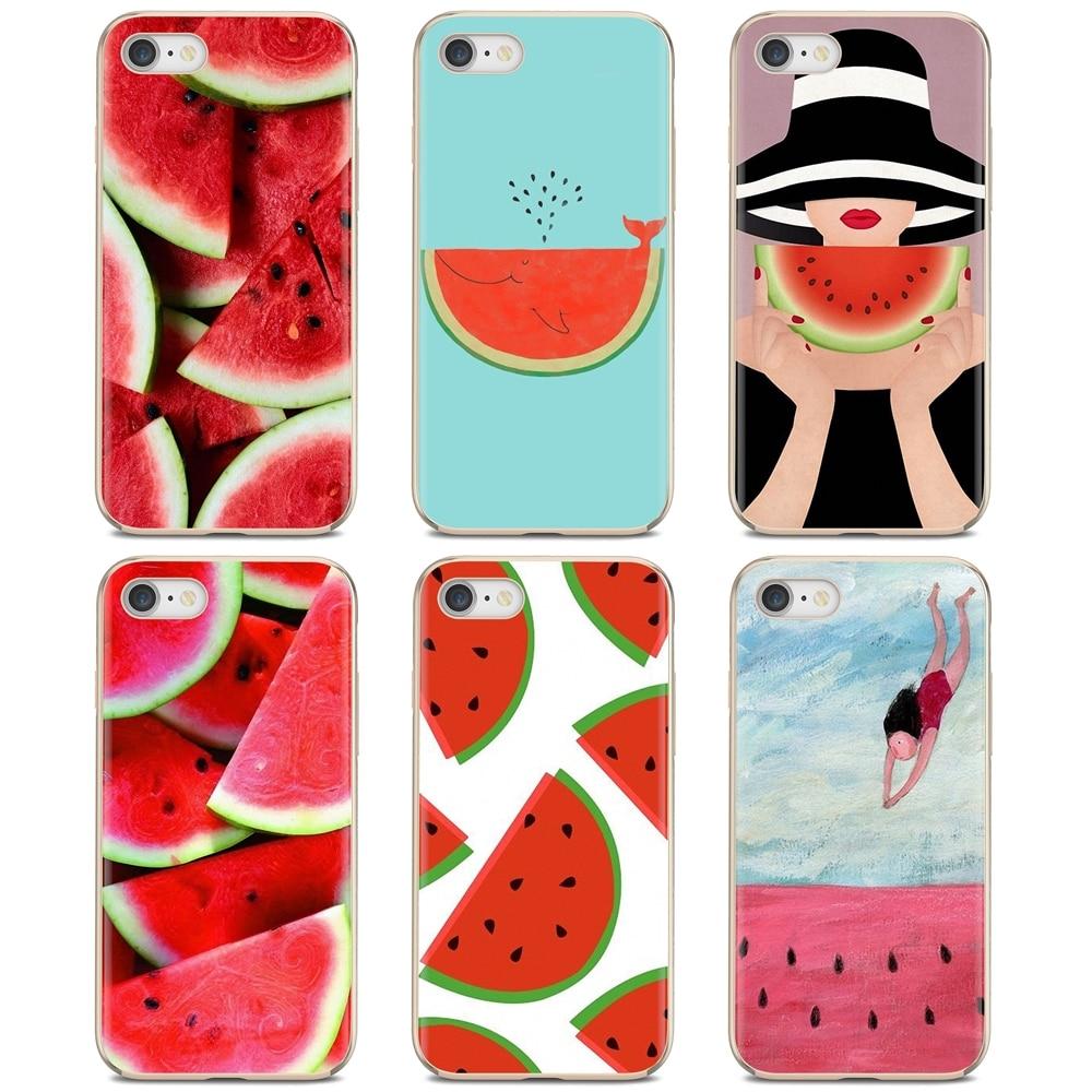 Watermelon Fruit Cute Pink For Motorola Moto G G2 G3 X4 E4 E5 G5 G5S G6 Z Z2 Z3 C Play Plus Slim Silicone Soft TPU Phone Case