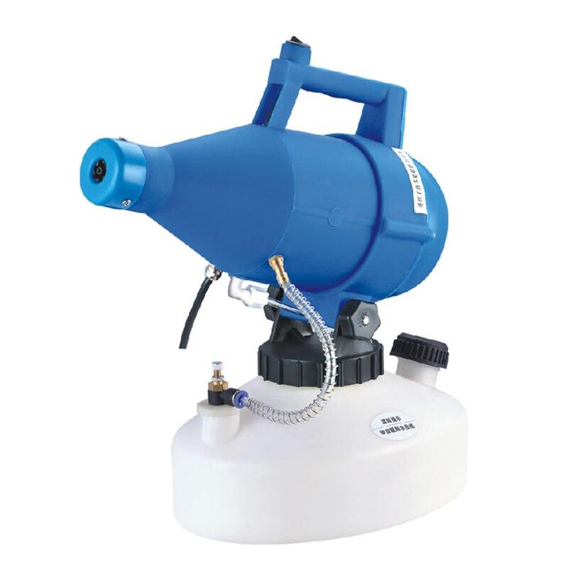 220V 4.5L Portable ULV Electric Sprayer  Ultra Low Volume Sprayer Atomizer Nebulizer Disinfector Drug Sprayer Aerosol Atomizer Y