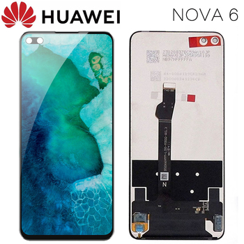 Original 6.57'' Display Replacement for Huawei Honor V30 View 30 LCD Touch Screen Digitizer Assembly for Huawei Nova 6 Display фото