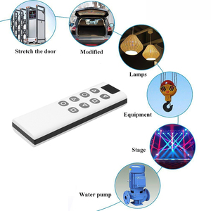 Image 5 - 8 Botones inalámbrico de 433Mhz copia clonación a Control remoto código para puerta de garaje puerta alarma duplicador de 1000M de largo transmisor