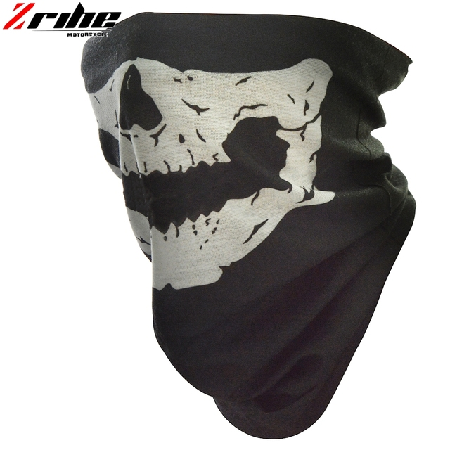 new style motorcycle skull ghost face windproof mask outdoor sports warm ski caps bicycle bike balaclavas scarf skull face mask 4