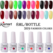 369 Colors 8ml Bottle Nail Gel Gelpolish UV/LED Nail Gel Polish Soak Off Gel Nail Polish Lacquer Base Top Coat Nail Art Varnish electric nail polish shaker machine nail gel polish bottle shaking device portable gel polish varnish bottle shaking machine