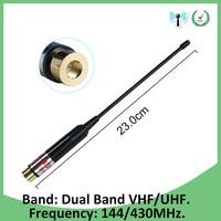 e5 p30 sma מכשירי המכונית Antenne עבור מוטורולה אחד עבור E398 G6 RAZR V3i E5 P30 SMA UHF מכשיר הקשר הטקטי עבור Baofeng 5R VHF DMR 430mhz (1)