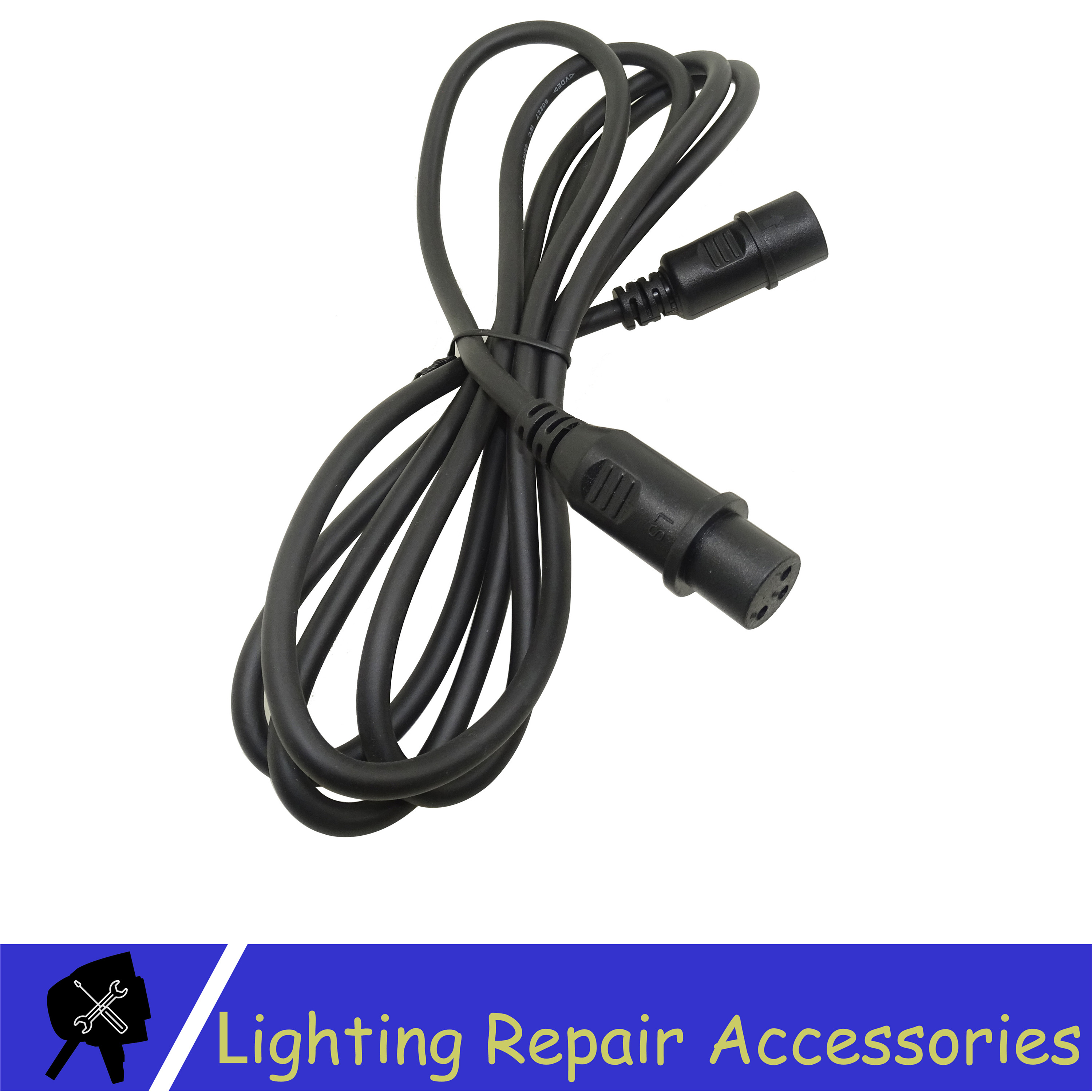 DMX Cable XLR 1.2 Meter 3pin Signal Connection Shielded XLR Male To Female For Led Par Light Moving Head