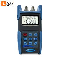 Good Performance JW3209 Optical Loss Test Set With Fiber Power Meter And Laser Source Optical Multimeter 1310nm/1550nm