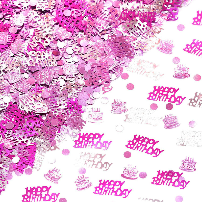 30 40 <font><b>50</b></font> 60 Happy Birthday Star Confetti Boy Girls Baby Shower Decorations Birthday Party Decor <font><b>Anniversary</b></font> Wedding Table Decor image