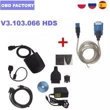 Wysokiej jakości najnowsze oprogramowanie V3.103.066 dla Honda HDS HIM narzędzie diagnostyczne z podwójnym pokładzie wsparcie VIN czytnik i IMMO