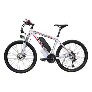 Image 1 - New C6 Product 26 inch electric bike/electric bicycle 48V 10AH 350W with 21 speed high quality