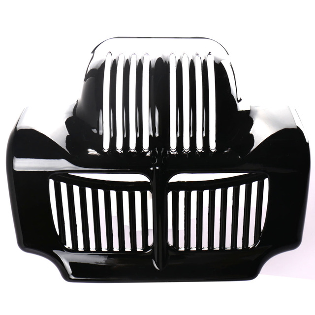 Motorcycle Stock Oil Cooler Cover For Harley Touring Road King Electra Street Glide Trike FLHT FLTR FLHX 2011-2014 2015