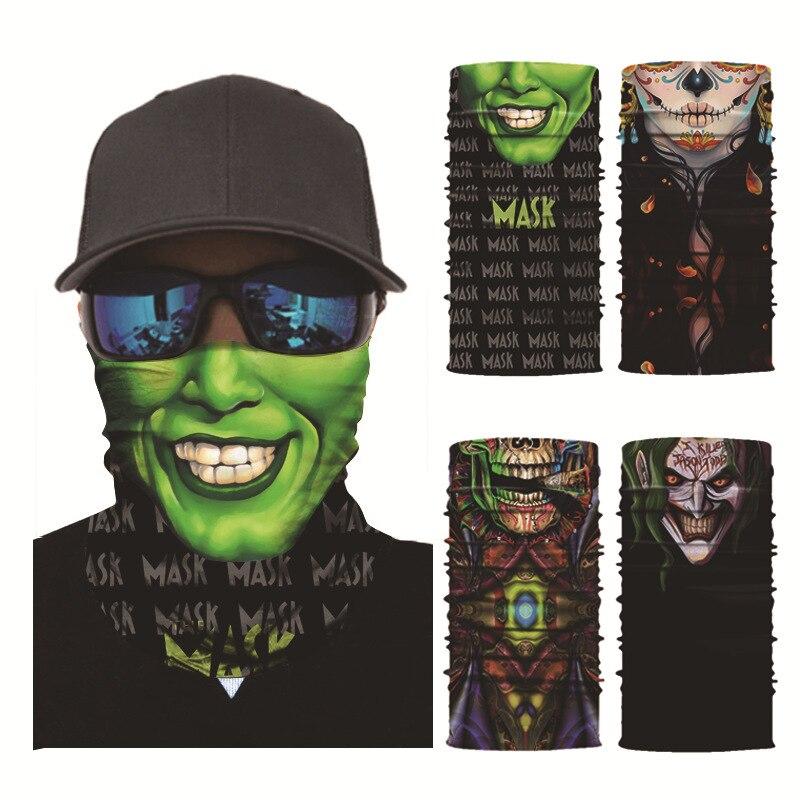 Outdoor Magic Headband 3D Animal Printed Sports Cycling Face Mask Bandana  WF