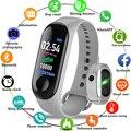 M3 смарт-браслет шагомер/Здоровье пульс/кровяное/давление/пульсометр спортивный браслет для мужчин и женщин Смарт-часы