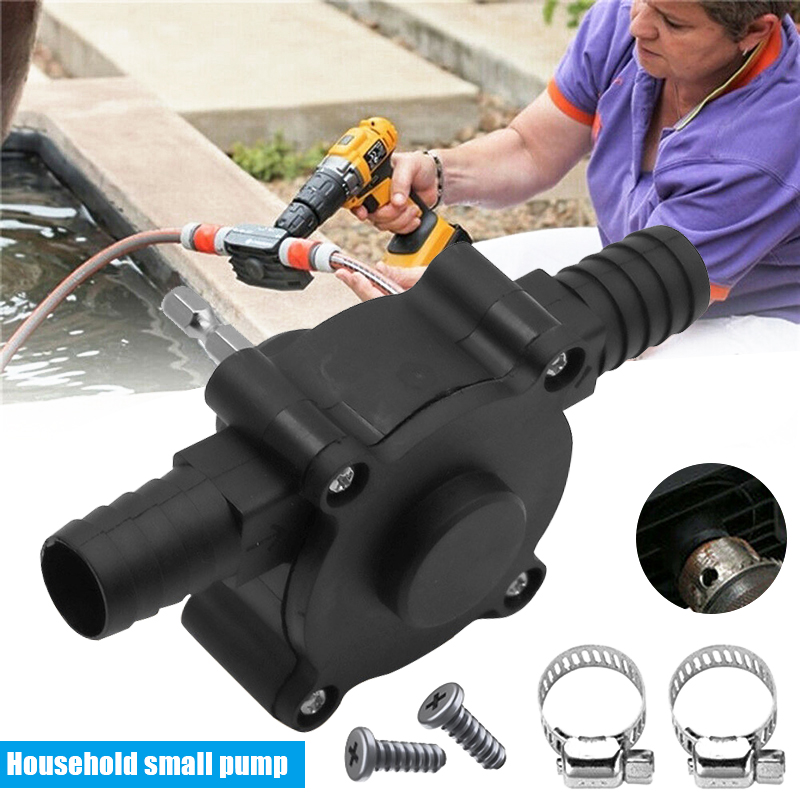 Manual Electric Drill Drive Self Priming Pump Oil Fluid Water Transfer Pumps PUO88