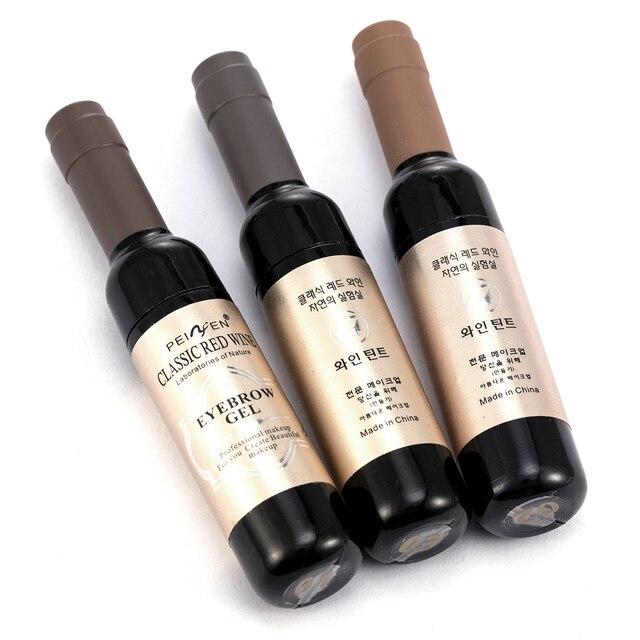 1 Pcs Eyebrow Gel Black Coffee Gray Peel Off Eye Brow Tattoo Shadow Eyebrow Gel Cosmetics Makeup for Women High Pigment Makeup 3