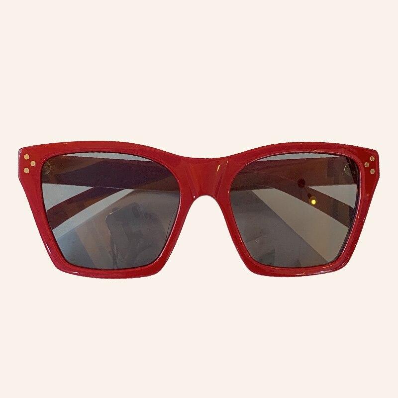 Brand Cat Eye Sunglasses Women Men With Classic Designer Mirror Sun Glasses Famale Male UV400