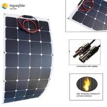 100W 200Wแผงพลังงานแสงอาทิตย์ที่มีความยืดหยุ่นETFE Sunpowerแผงเซลล์แสงอาทิตย์Sunpower Solar CellสำหรับRV/เรือ/รถยนต์ 12V/24V Solar Battery Charger