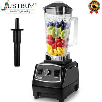 Licuadora comercial de alta resistencia sin BPA de 2200W, mezclador de licuado profesional, procesador de alimentos, máquina de batidos de hielo con cuchilla japonesa