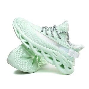 Image 3 - Heidsy מותג גברים סניקרס 2020 חדש אופנה אור משקל אוויר רשת נעליים יומיומיות אביב להב גברים נעלי עיצוב Zapatos דה Hombre