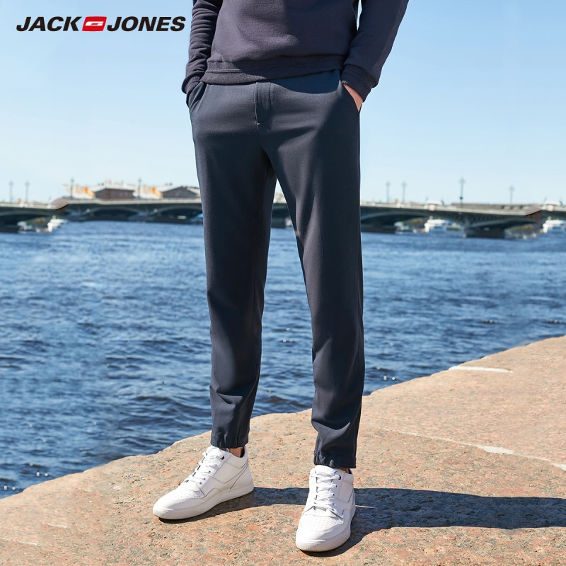 JackJones Men's Casual Ankle-length Trousers Basic Menswear Pants 219314538