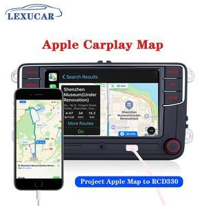 Image 4 - LEXUCAR RCD330 Plus RCD330G RCD 330 330G Carplay Radio 6RD 035 187B For VW Golf 5 6 Jetta CC MK6 MK5  Passat B6 B7 Tiguan 187B