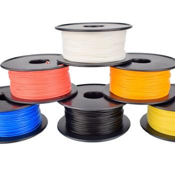 خيوط طابعة ثلاثية الأبعاد عالية الجودة طابعة ثلاثية الأبعاد سلك بلاستيكي 1.75 مللي متر PLA 250g/Roll مواد طباعة ثلاثية الأبعاد دقة الأبعاد