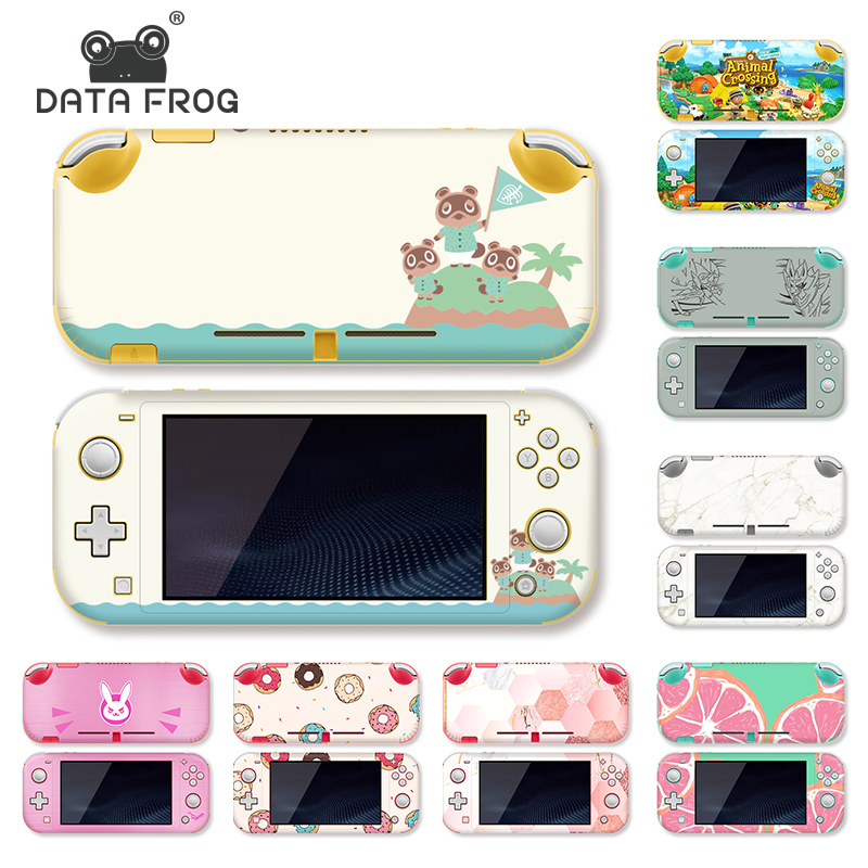 DataFrog 14 Pattern Sticker For Nintendo Switch Lite Skin Stickers Protective Stickers For Nintend Switch Lite Pikachu Cute Skin