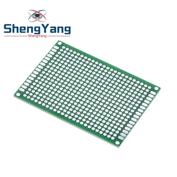 10 sztuk 5*7 PCB 5 #215 7 PCB 5cm 7cm dwustronnie prototypowa płytka drukowana diy uniwersalne drukowane obwodu pokładzie zielony tanie i dobre opinie CN (pochodzenie)