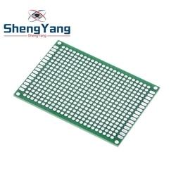 5*7 PCB 5x7 PCB 5cm 7cm Double Side Prototype PCB diy Universal Printed Circuit Board Green