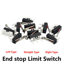 3D Printer Parts 10pcs/Lot End Stop Micro Limit Switch for I3 Delta Kossel Makerbot Printer RAMPS 1.4 DIY Accessories