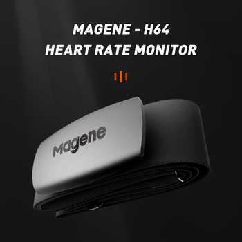 Magene NEW Model H64 Bluetooth4.0 ANT + Heart Rate Sensor Compatible GARMIN Bryton IGPSPORT Computer Running Bike Monitor - DISCOUNT ITEM  16 OFF Sports & Entertainment