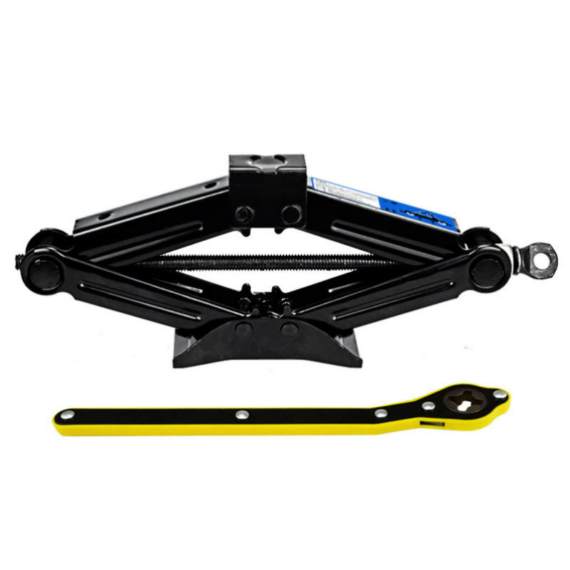 Cost-effective 2Tons Foldable Car Jack Hand-operated Horizontal Type 2 Tons Car Jack Car Tire Repair Tool
