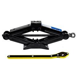Custo-benefício 2 toneladas dobrável carro jack mão-operado tipo horizontal 2 toneladas carro jack carro ferramenta de reparo de pneus